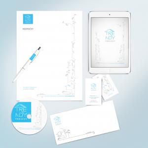 Trendy projekt-pero vizitky HP tablet